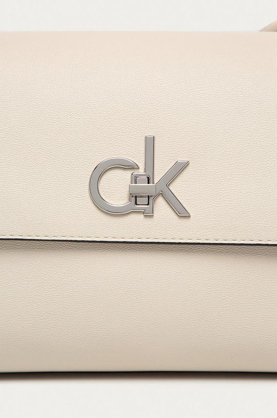 Calvin Klein - Kabelka bílá