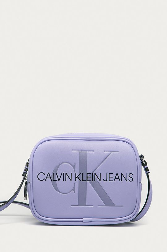 levandulová Calvin Klein Jeans - Kabelka Dámský
