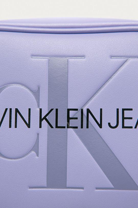 Calvin Klein Jeans - Kabelka levandulová