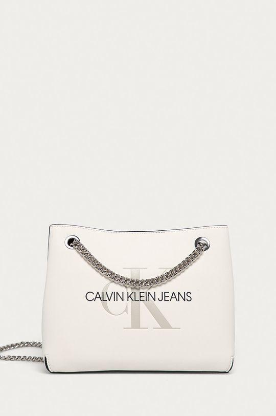 biela Calvin Klein Jeans - Kabelka Dámsky