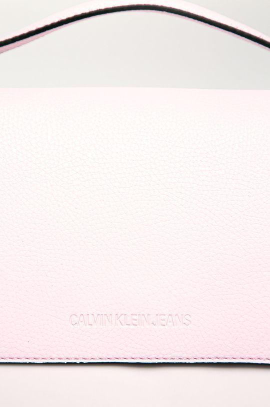 Calvin Klein Jeans - Poseta roz pastelat