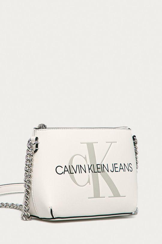 Calvin Klein Jeans - Kabelka bílá