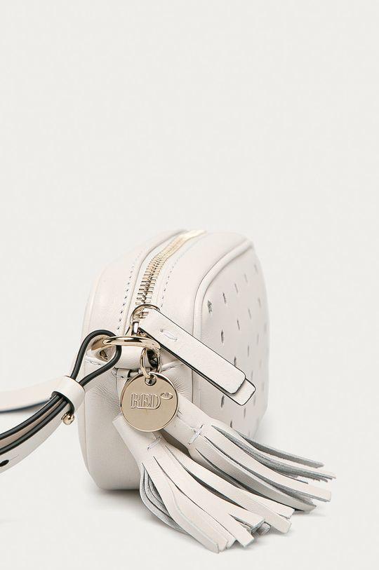 Red Valentino - Kožená kabelka bílá