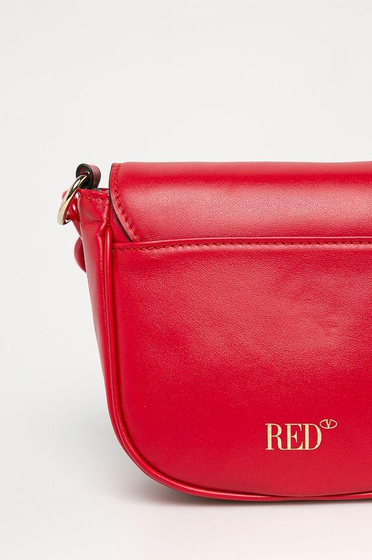 czerwony Red Valentino - Torebka skórzana