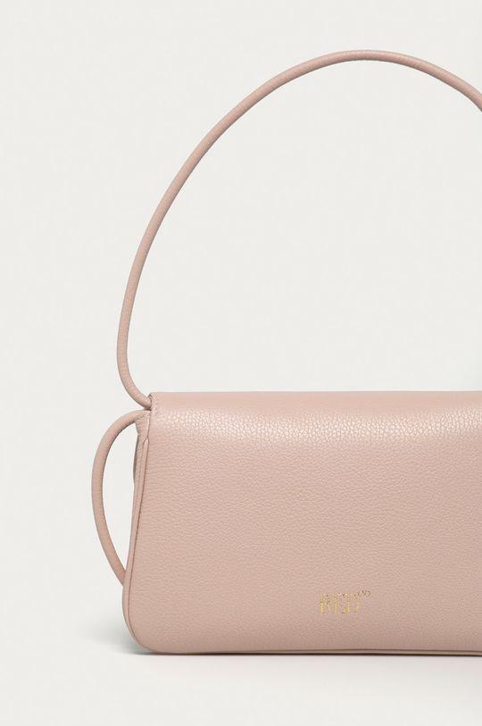 ružová Red Valentino - Kožená kabelka