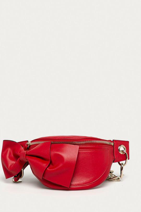 červená Red Valentino - Kožená ľadvinka Dámsky
