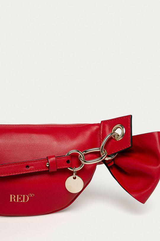 Red Valentino - Kožená ľadvinka  100% Prírodná koža