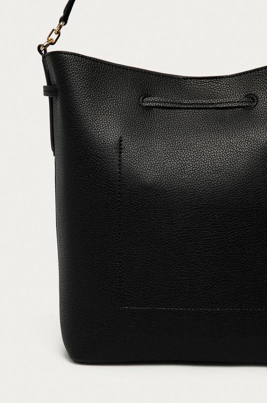 černá Lauren Ralph Lauren - Kožená kabelka