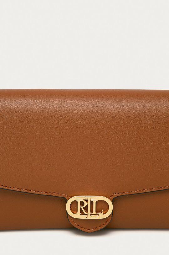 Lauren Ralph Lauren - Kožená kabelka  Podšívka: 100% Polyester Hlavní materiál: 100% Přírodní kůže Provedení: 100% Polyuretan