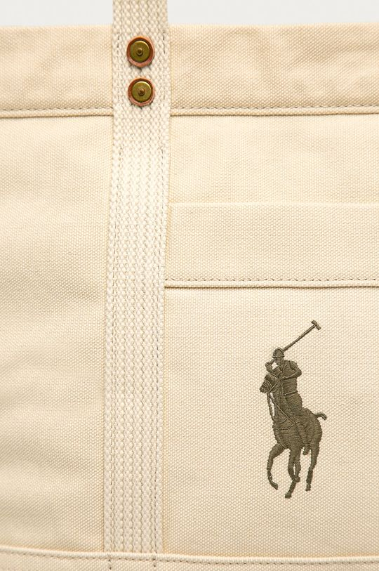 Polo Ralph Lauren - Torebka kremowy