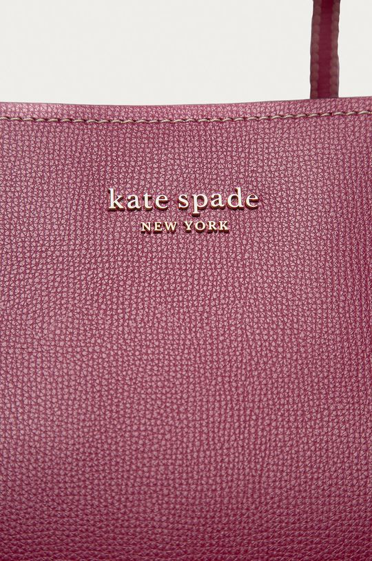 Kate Spade - Torebka skórzana fiołkowo różowy