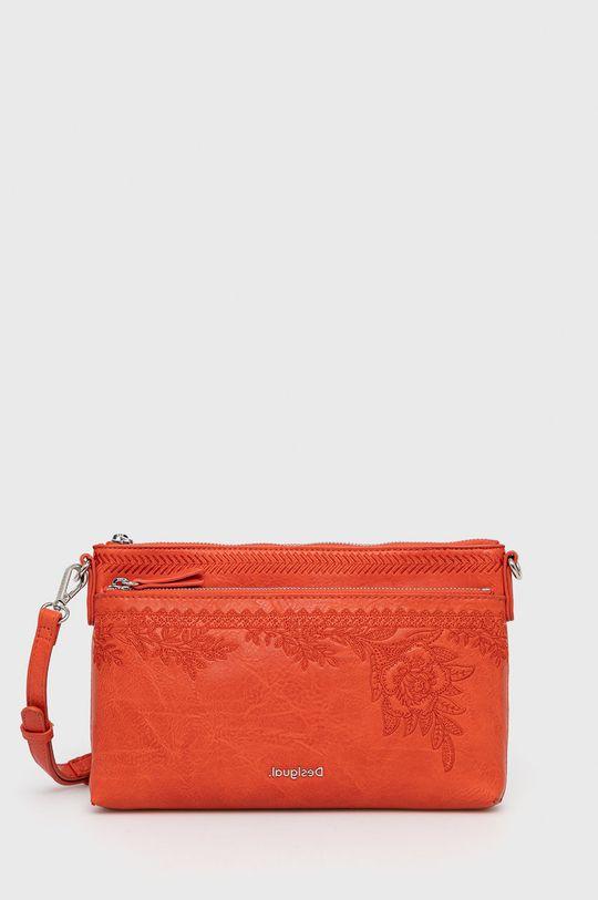 oranžová Desigual - Kabelka Dámský