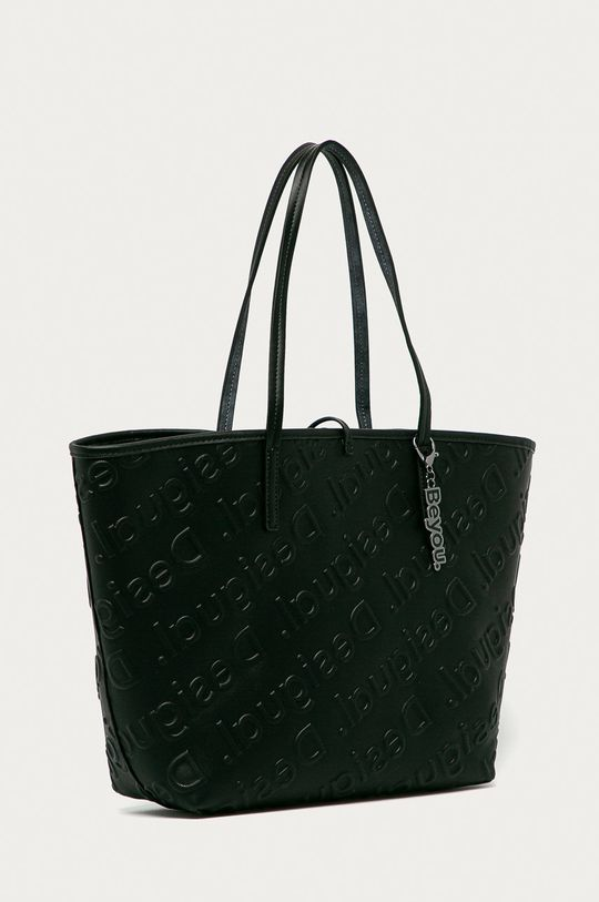 Desigual - Obojstranná kabelka tmavomodrá