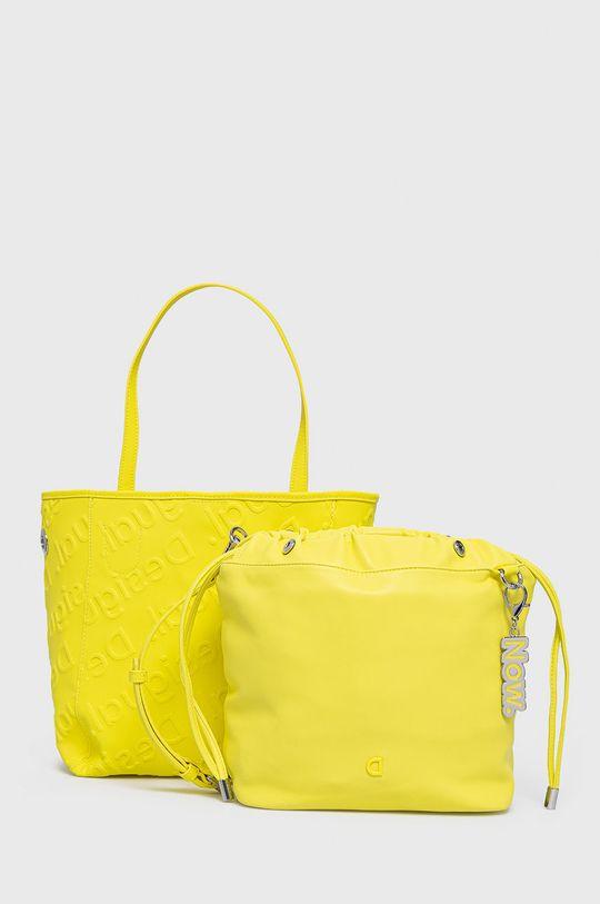 żółty Desigual - Torebka Damski