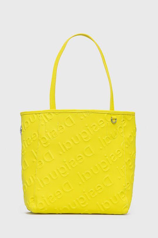 Desigual - Torebka żółty