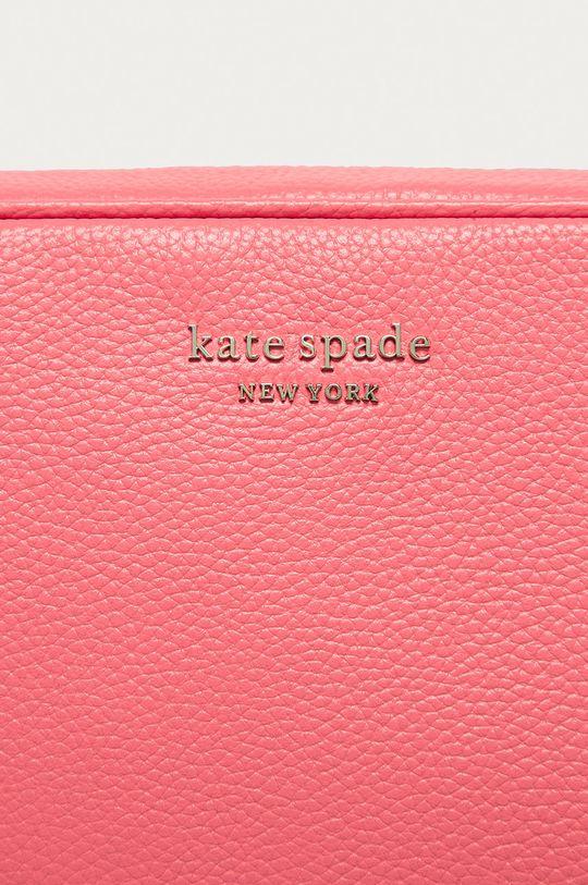 Kate Spade - Kožená kabelka ružová