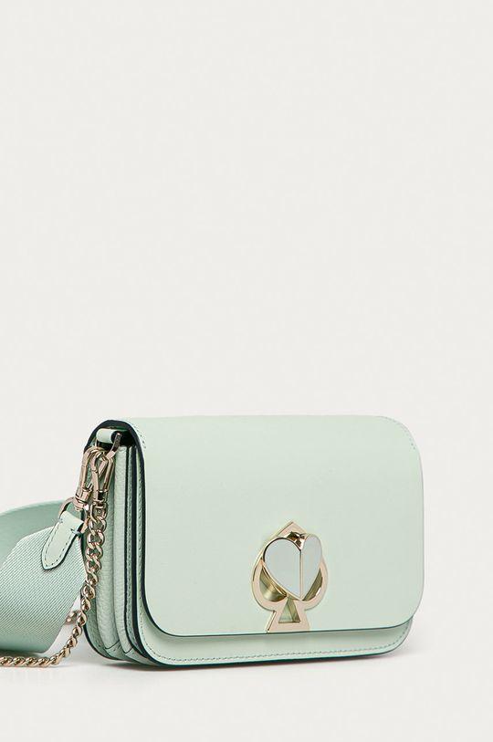 Kate Spade - Kožená kabelka zelená