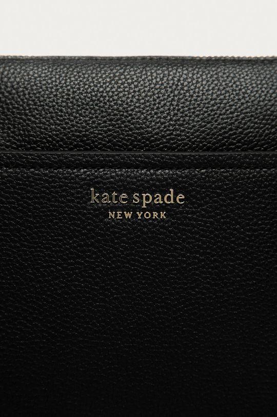 Kate Spade - Kožená kabelka černá