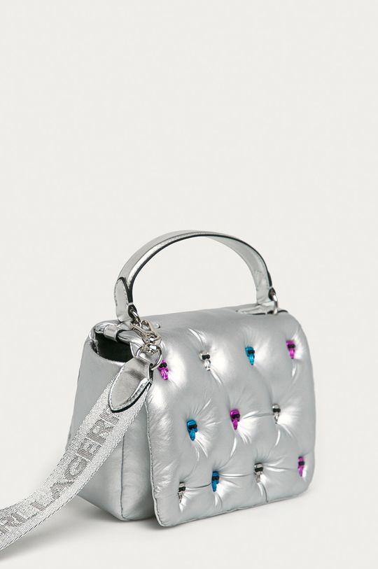 Karl Lagerfeld - Torebka srebrny