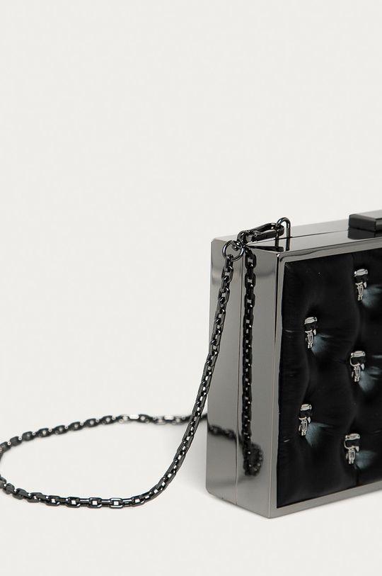 Karl Lagerfeld - Torebka Materiał tekstylny, Metal