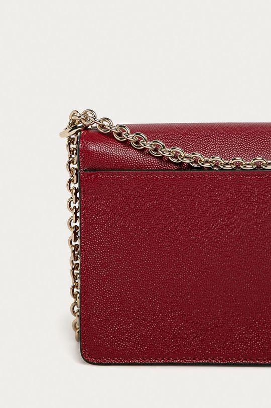 červená Furla - Kožená kabelka Mimi Mini