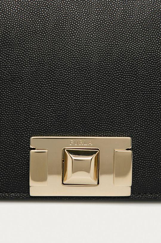 Furla - Kožená kabelka Mimi  Podšívka: 22% Nylon, 78% Viskóza Hlavní materiál: 100% Přírodní kůže
