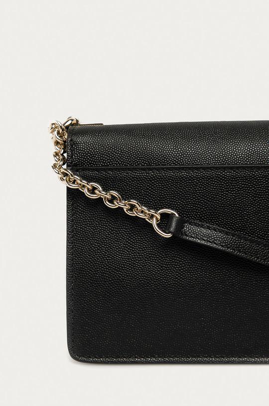 černá Furla - Kožená kabelka Mimi