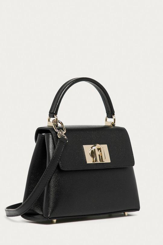 Furla - Poseta de piele 1927 negru