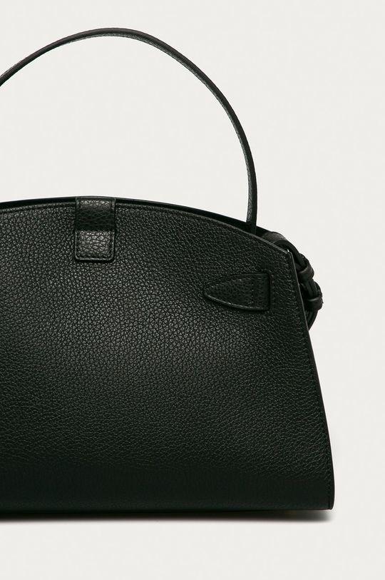 čierna Furla - Kožená kabelka Margherita