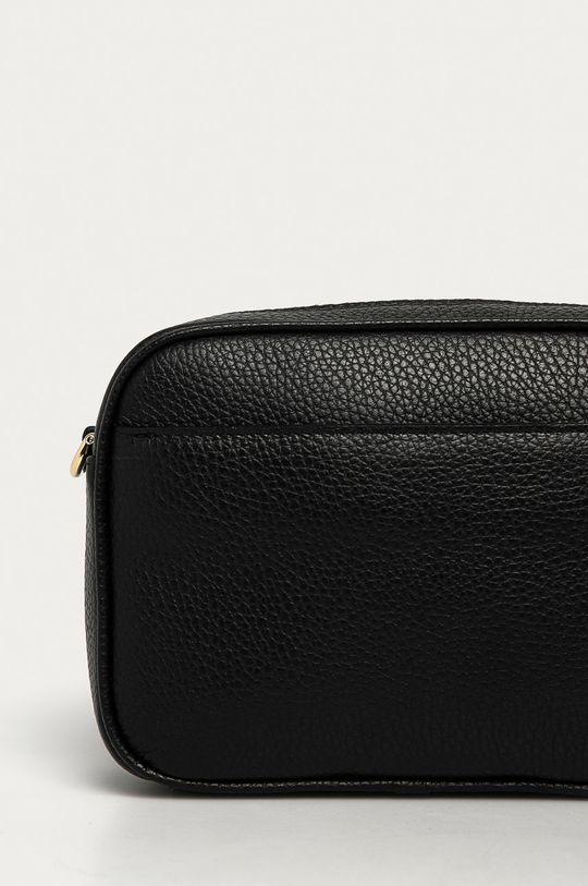 čierna Furla - Kožená kabelka Real Mini