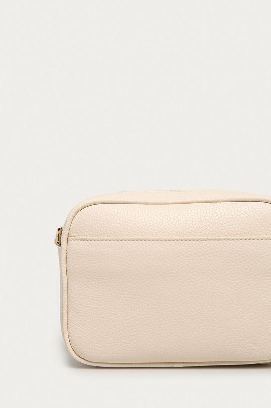 krémová Furla - Kožená kabelka Real Mini