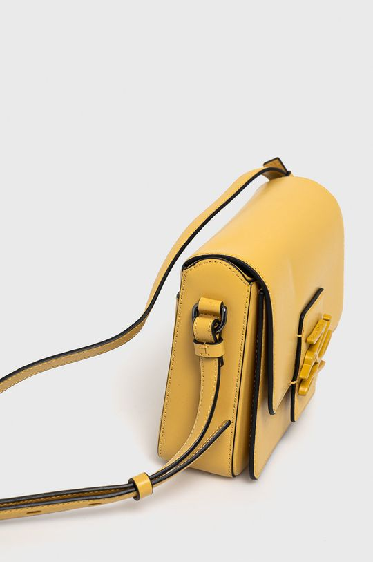 Karl Lagerfeld - Torebka skórzana 100 % Skóra naturalna