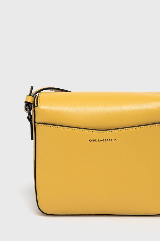 żółty Karl Lagerfeld - Torebka skórzana
