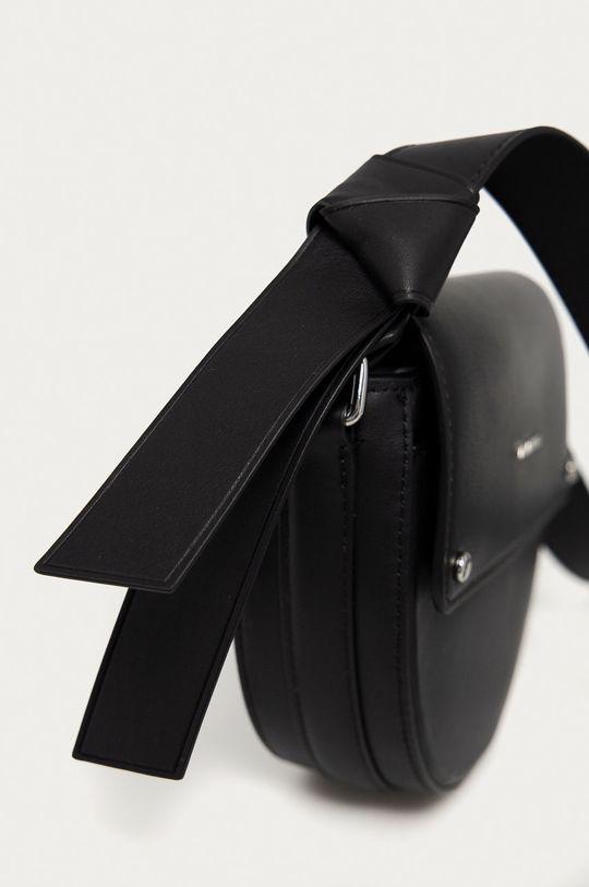 czarny Karl Lagerfeld - Torebka skórzana