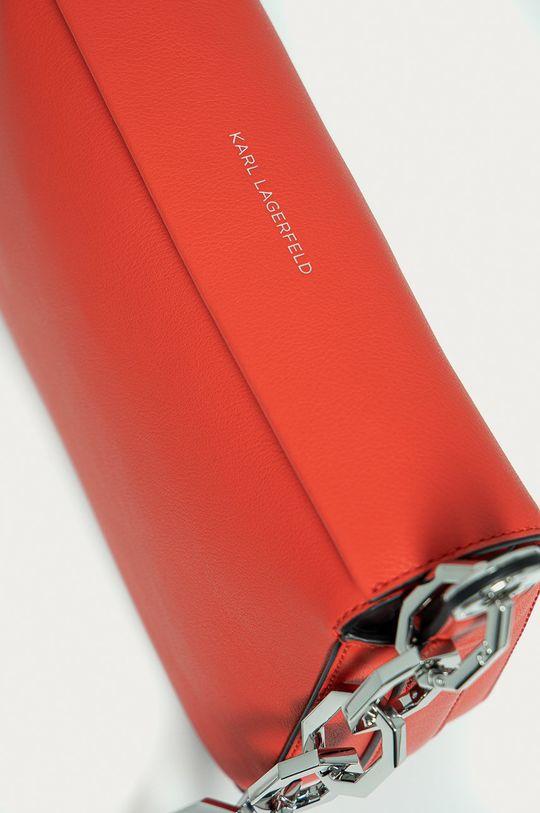 czerwony Karl Lagerfeld - Torebka skórzana
