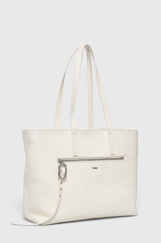 Hugo - Kožená kabelka bílá