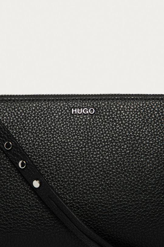 Hugo - Kopertówka skórzana czarny