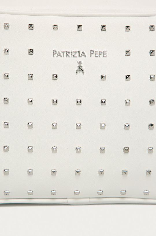 biały Patrizia Pepe - Torebka skórzana