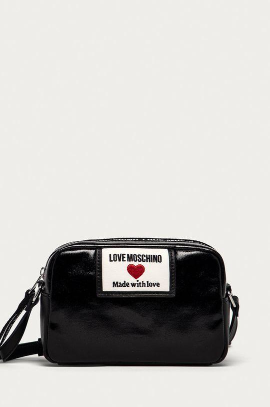 čierna Love Moschino - Kabelka Dámsky