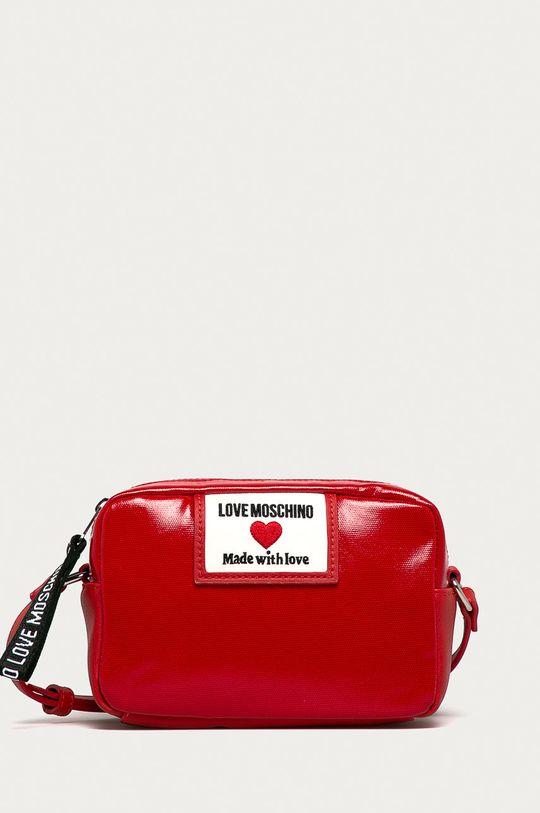 červená Love Moschino - Kabelka Dámsky