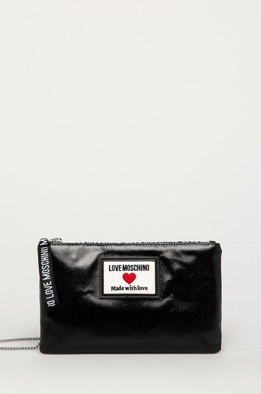 čierna Love Moschino - Listová kabelka Dámsky