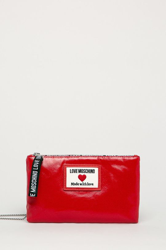 červená Love Moschino - Listová kabelka Dámsky
