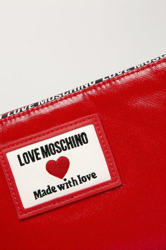 Love Moschino - Listová kabelka červená
