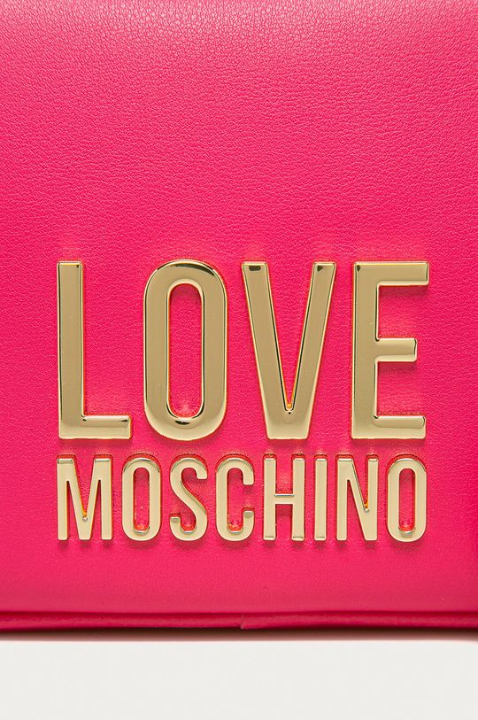 Love Moschino - Kabelka ostrá růžová