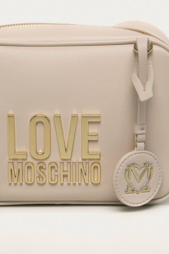 krémová Love Moschino - Kabelka