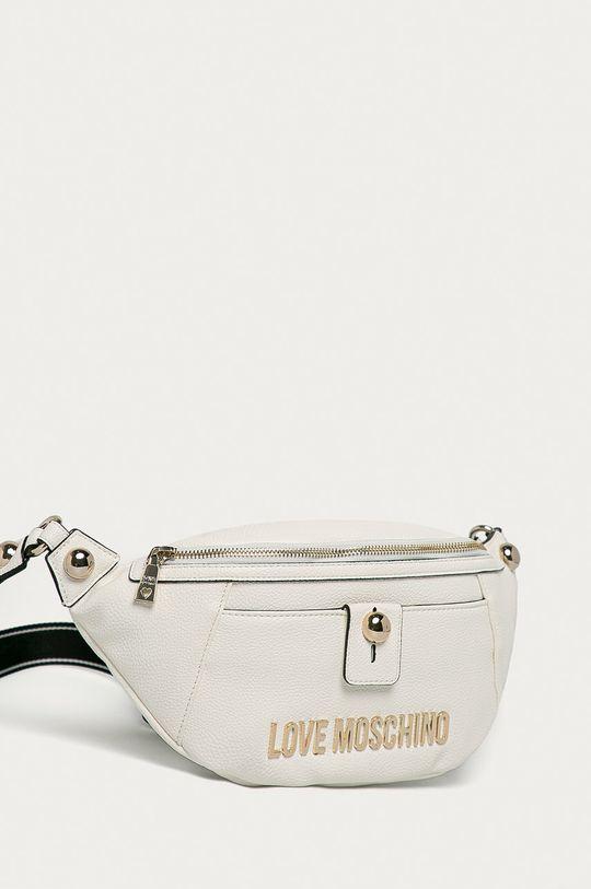 Love Moschino - Ledvinka bílá