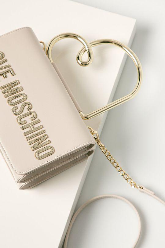Love Moschino - Kabelka krémová