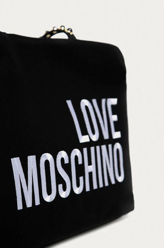 Love Moschino - Torebka Podszewka: 100 % Poliester, Materiał zasadniczy: 100 % Bawełna