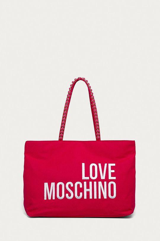 fuchsiová Love Moschino - Kabelka Dámský