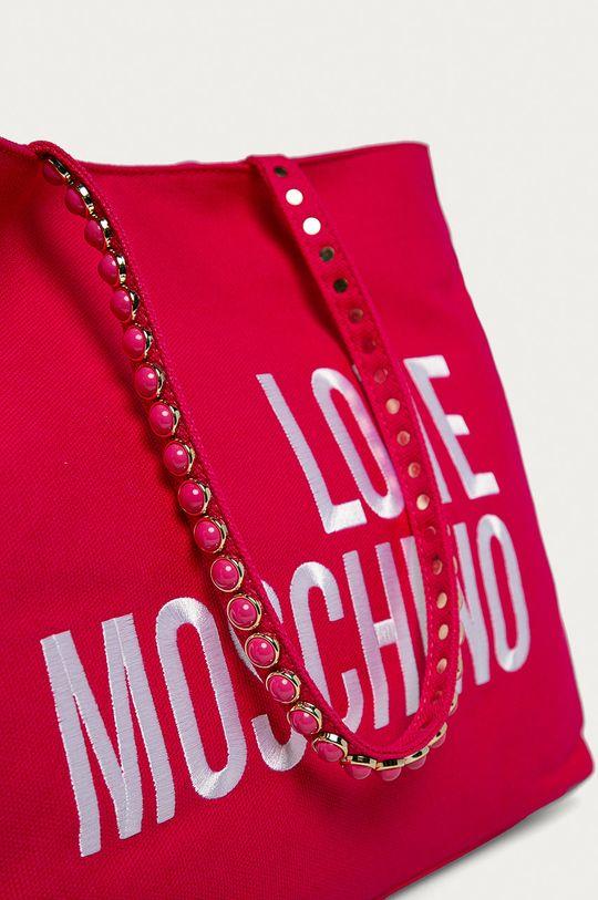 Love Moschino - Kabelka fuchsiová